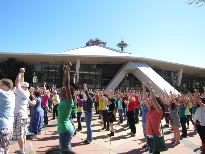 Seattle Glee Flash Mob '12