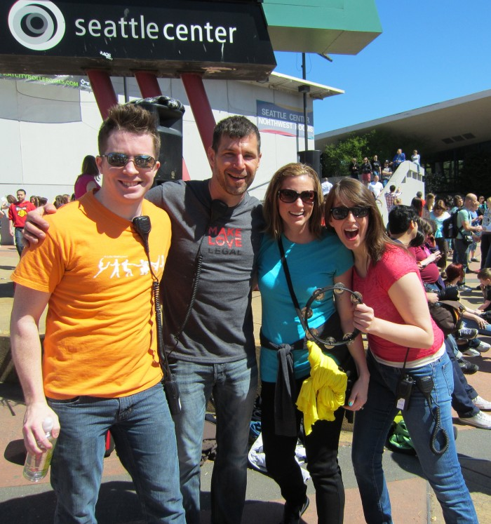 Glee Flash Mob Seattle '12