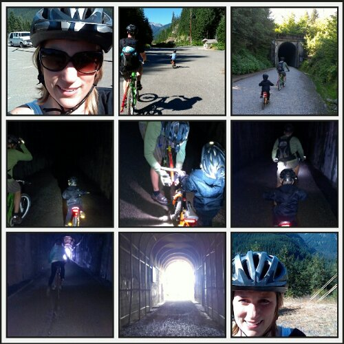 Snoqualmie Tunnel Adventure