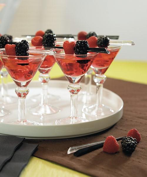 Mini martini drinks