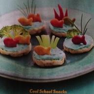 Mini rice cakes