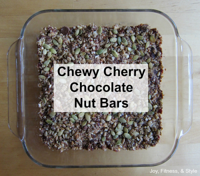 Cherry Choc Nut Bars