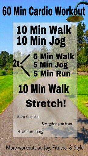 60 min outdoors