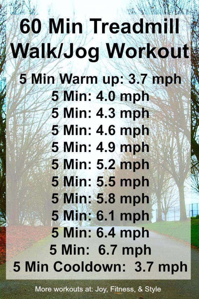 60 min Treadmill