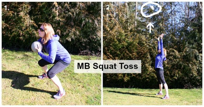 MB Squat Toss