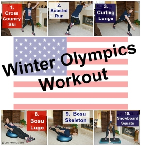 Winter Olympics Workout 1