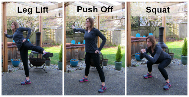 Leg Lift Push Off Squat
