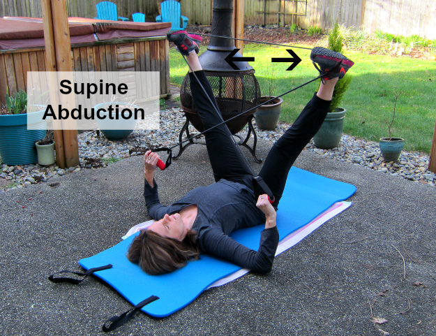 Leg Lifts Supine Abduction