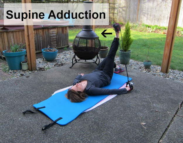 Leg Lifts Supine Adduction