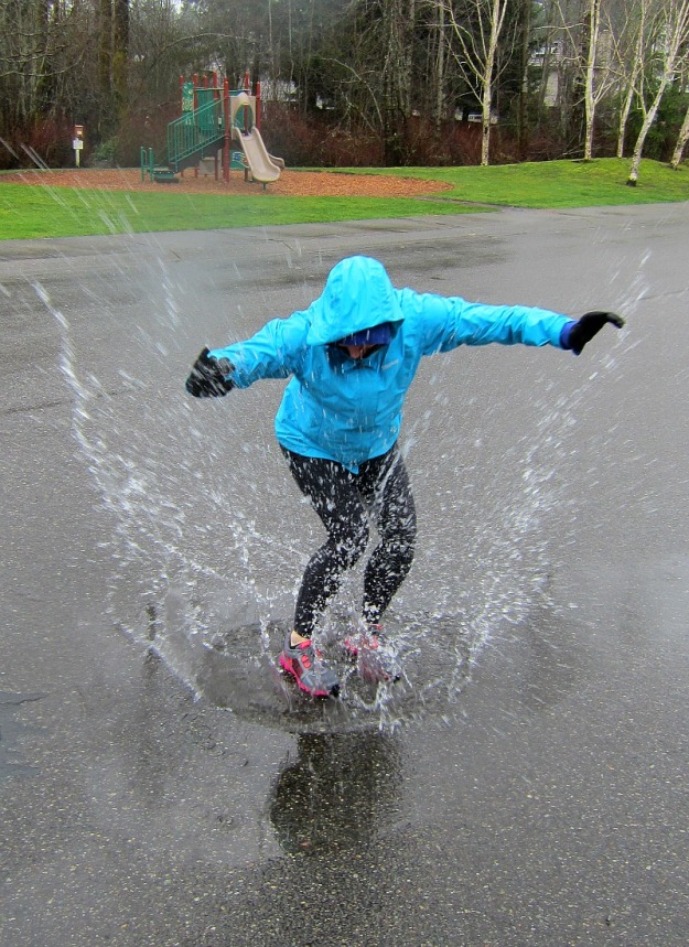Puddle Jumping!