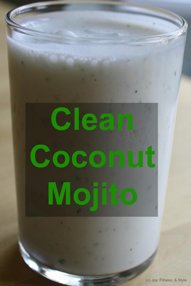 Clean Coconut Mojito