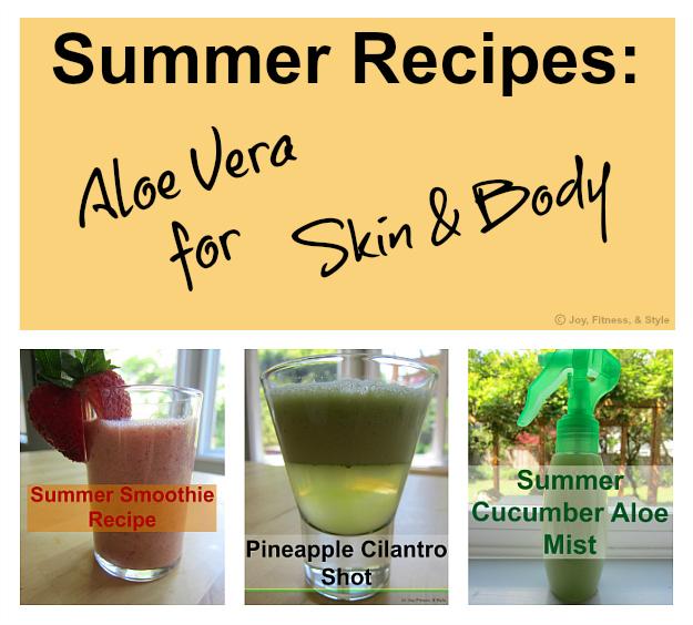 Aloe Vera Juice Recipes