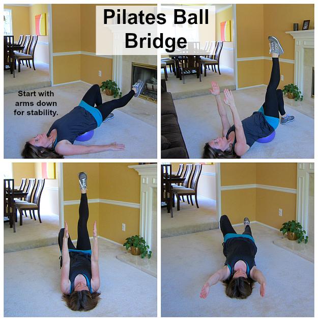 Pilates Ball Bridge