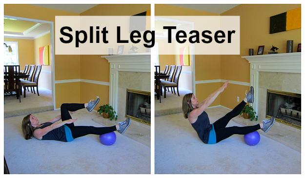 Pilates Ball Workout 8