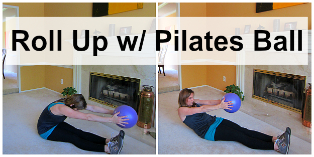 Roll Up w/ Pilates Ball
