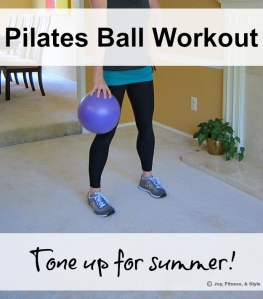 Pilates Ball Workout