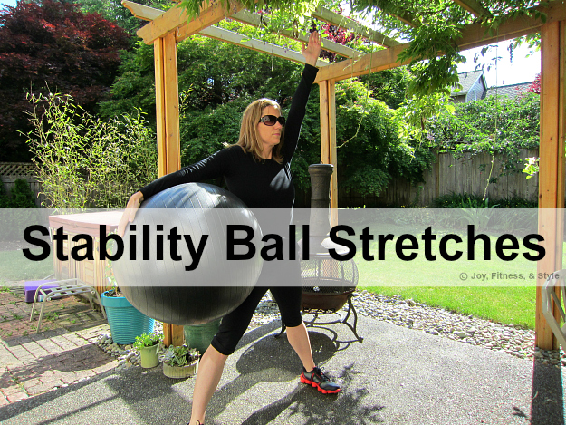 Stability Ball Stretches 3