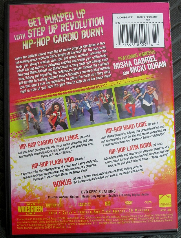 Step Up Back Cover