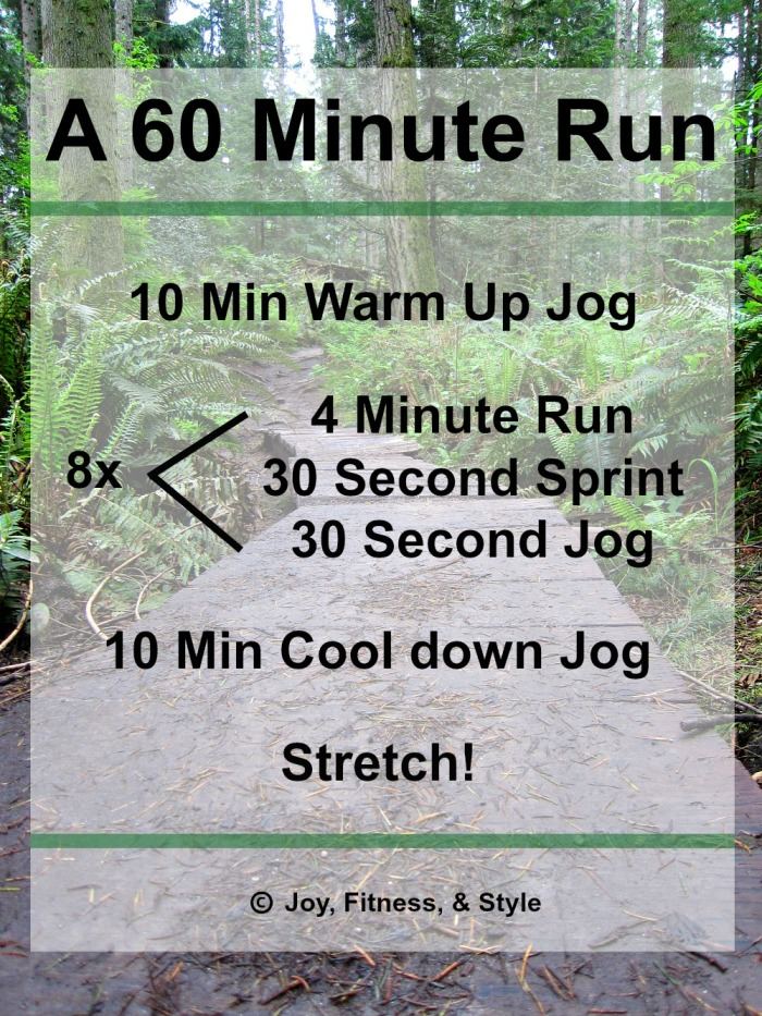 A 60 Minute Run