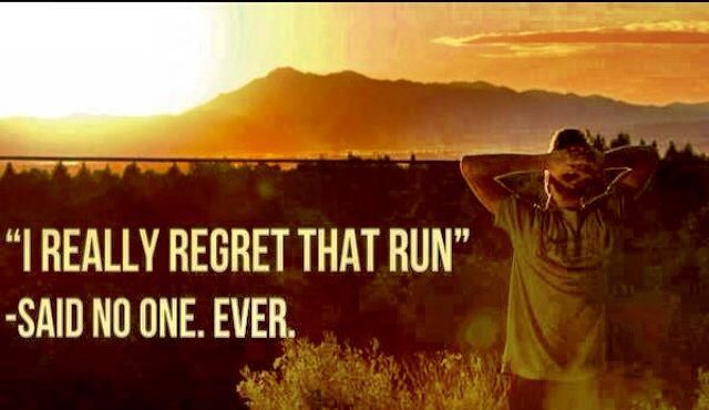regret that run