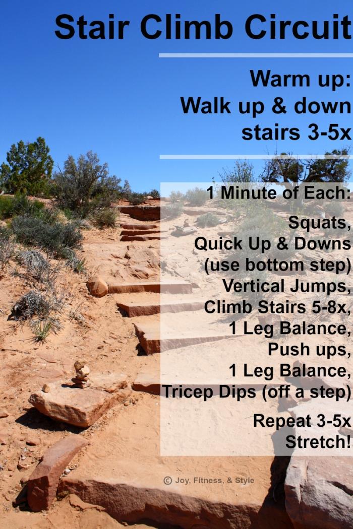 Stair Climb Circuit