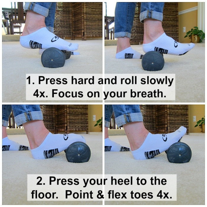 Trigger Point Foot Roller Exercise 1