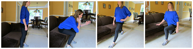 Couch Potato Squats and Lunges