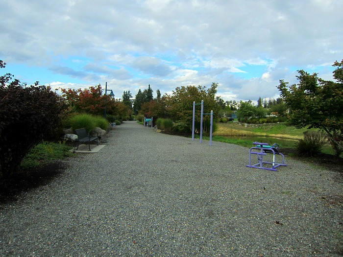 Black Nugget Park located in the Issaquah Highlands