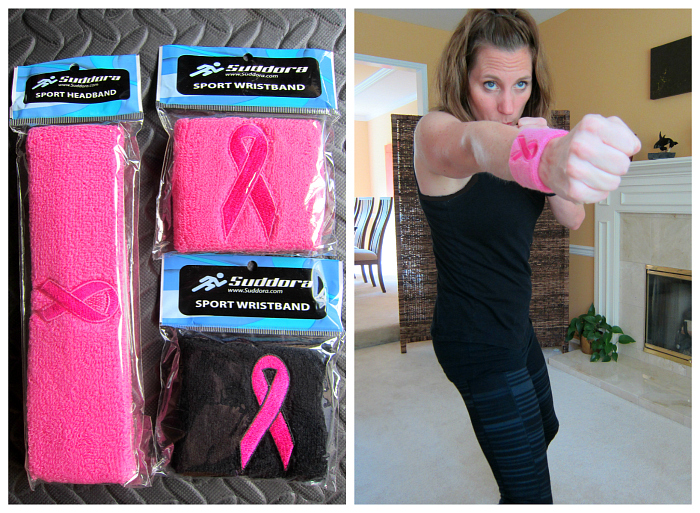 Kickboxing and Suddora Sweatbands