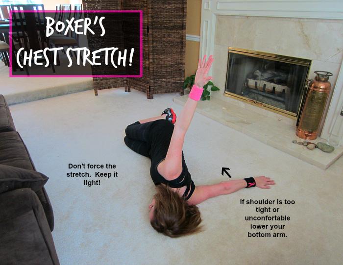 Kickboxing Chest Stretch