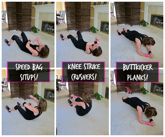Kickboxing Core Exercises