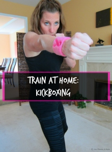 Kickboxing Train at Home