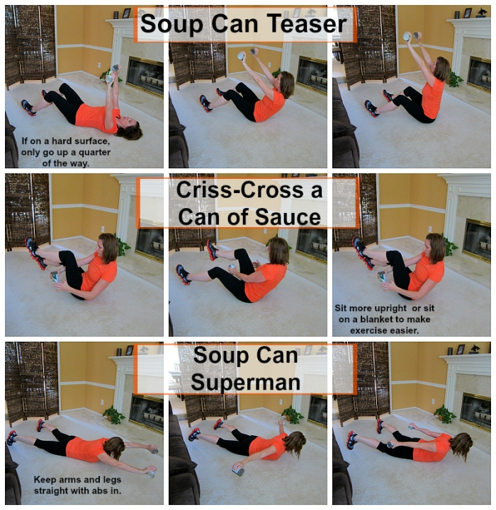 Soup Can Workout 1