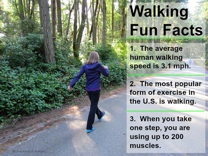 walking fun facts