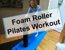 Foam Roller Pilates Workout 1