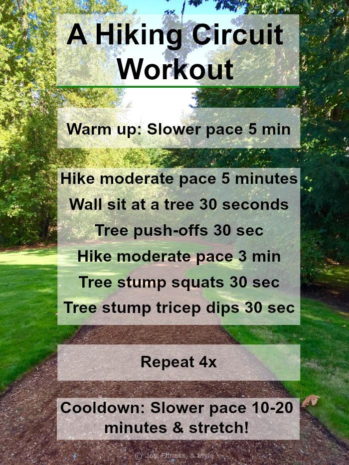Hiking Circuit Workout