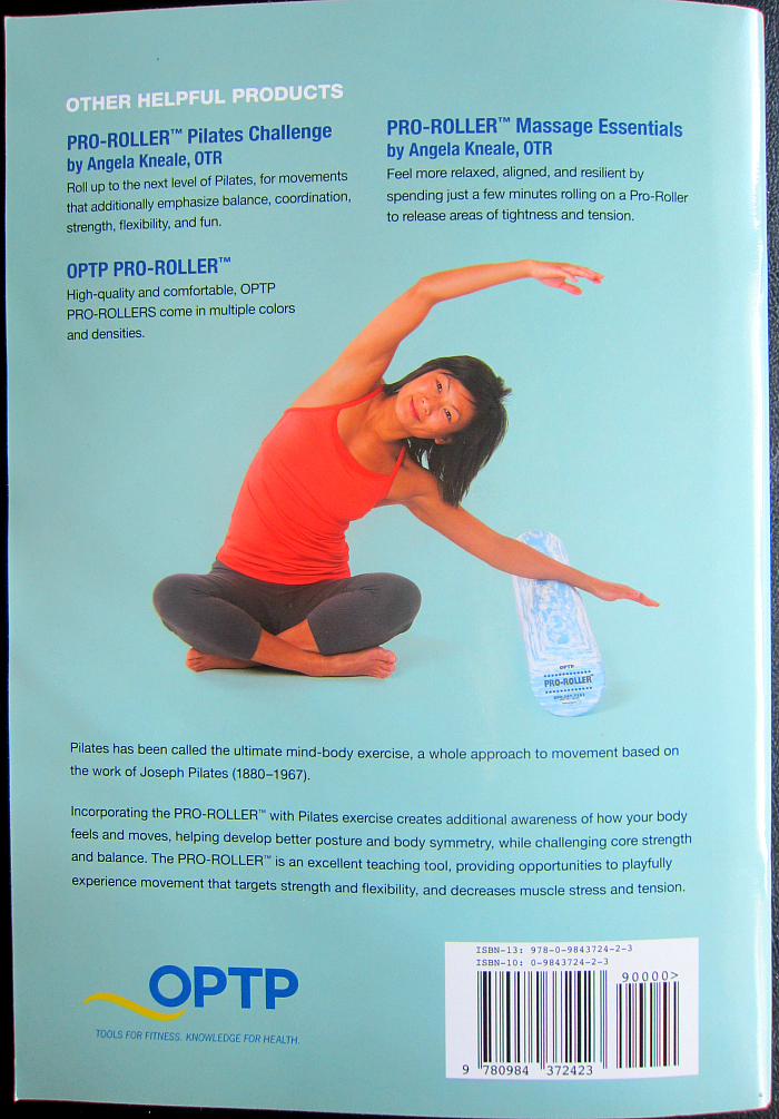 Pro-Roller Pilates Essentials Review Back Cover