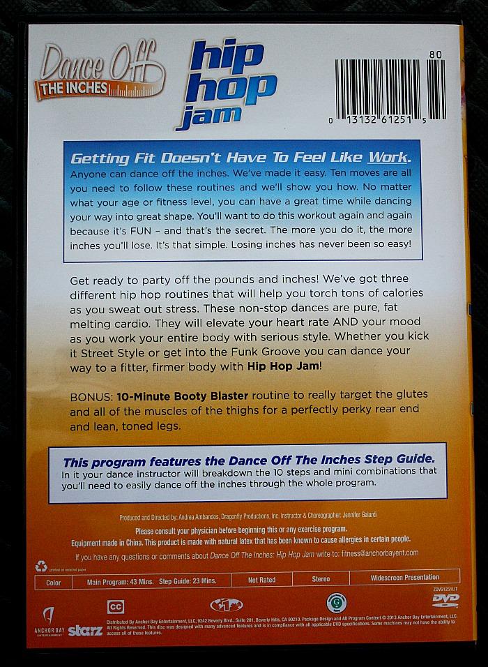 Hip Hop Jam DVD Back Cover