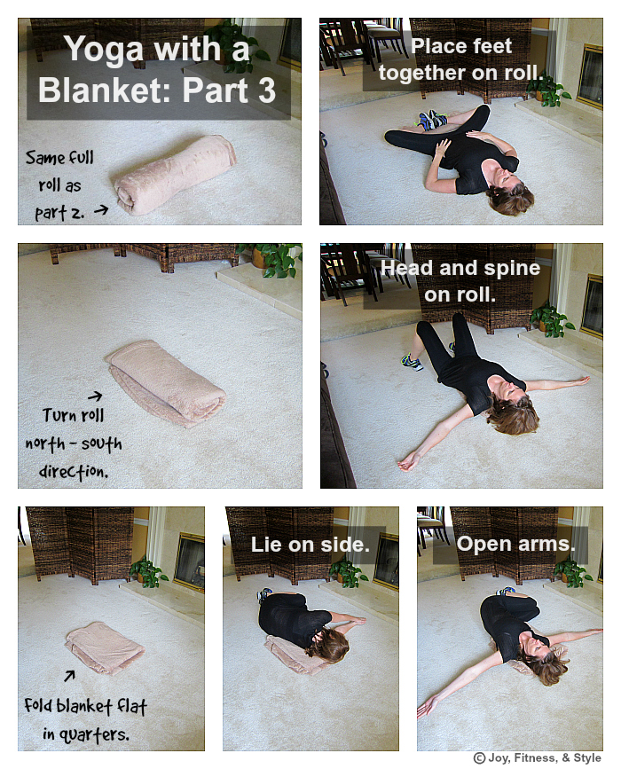 Yoga with a Blanket Part 3