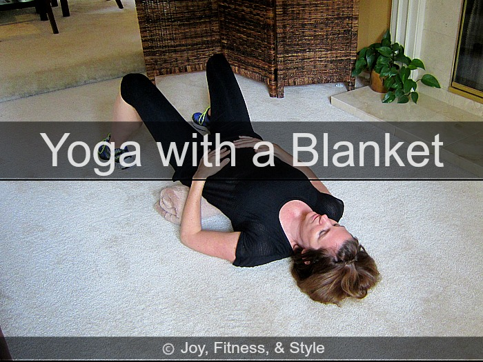 Yoga with a Blanket Practice