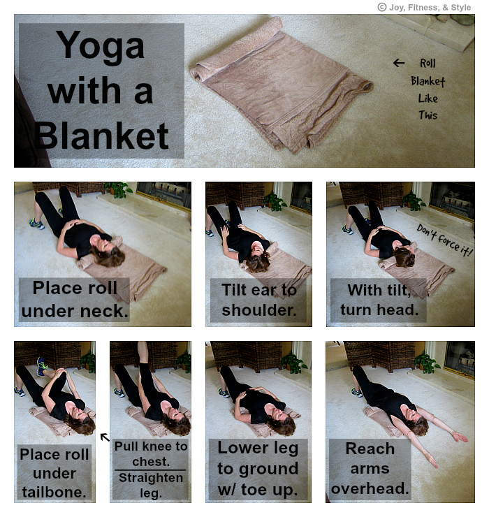 Yoga with a Blanket