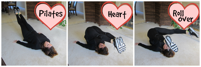Pilates Heart Roll Over