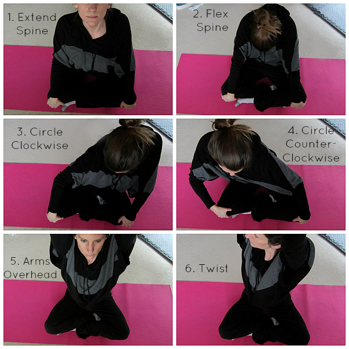 Simple Seated Twist Variations