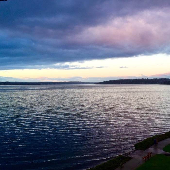 Lake Washington in Kirkland, WA