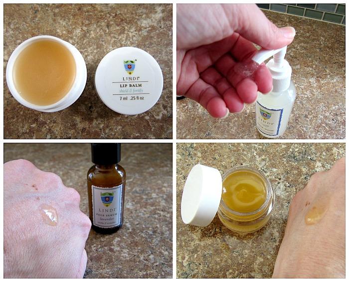 Lindi Lip Balm Face Wash Eye Hydrator Face Serum