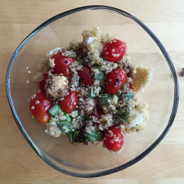 Caprese Quinoa Salad | Joy, Fitness, & Style