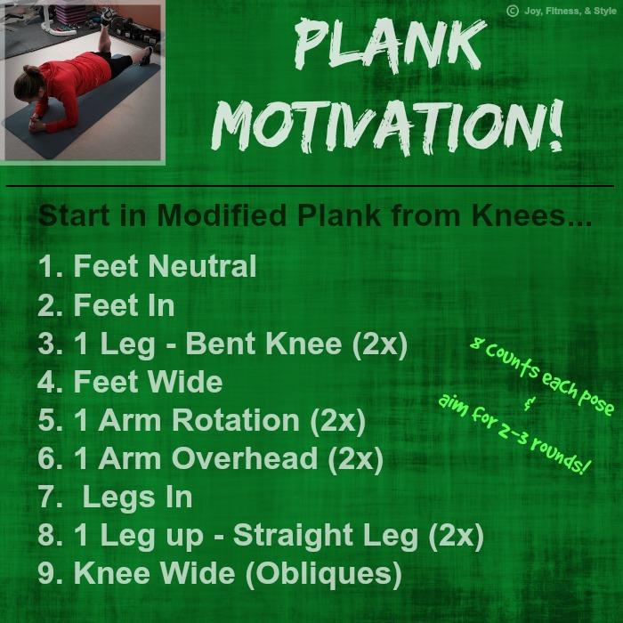 Plank Motivation!