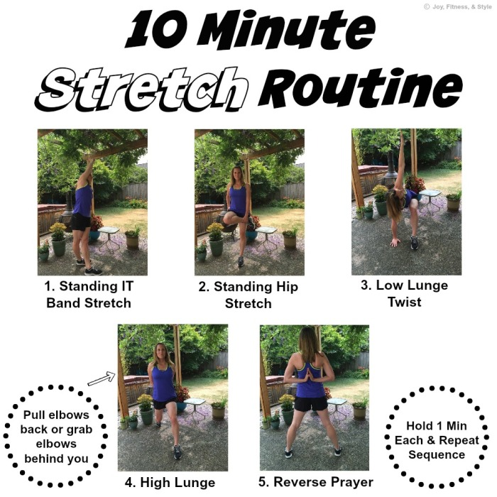 10 Minute Stretch Routine