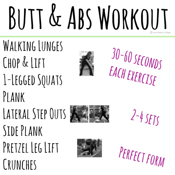 Butt & Abs Workout