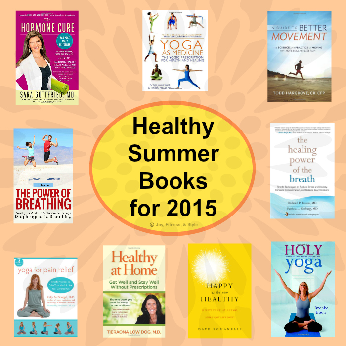 Healthy Summer Books for 2015